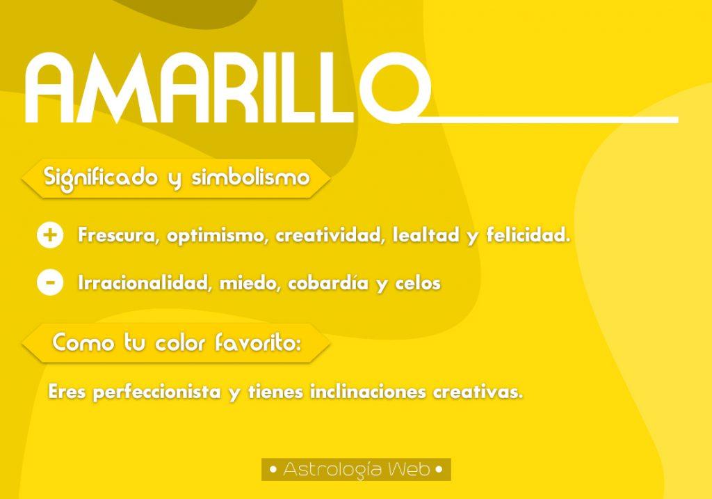 Amarillo Significado Simbolismo